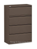 Extra Deep Office Metal Storage Cabinet with 4 Drawers For Hanging File