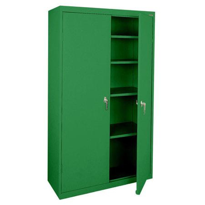 Heavy Duty Garage Storage Metal Cabinet with Shelves