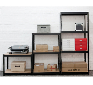 Boltless Steel Storage Shelving with 3 Shelves